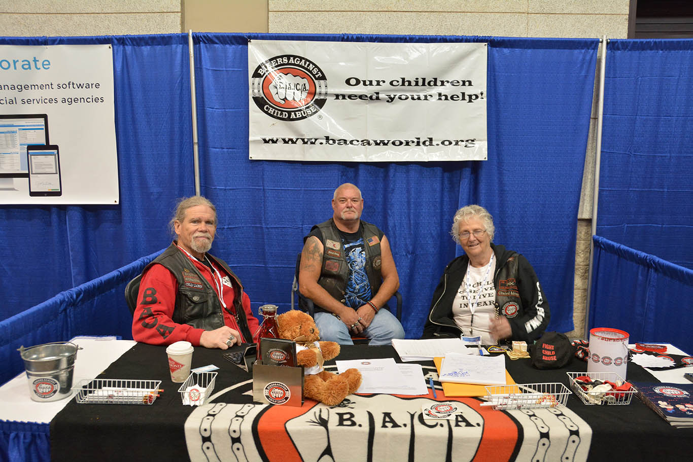 Bikers Against Child Abuse Exhibitor