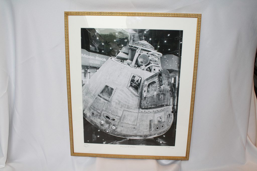 "16""x20"" ""Apollo: Happy 50th"" Anniversary Print  Framed by Olivia Reed Photography."