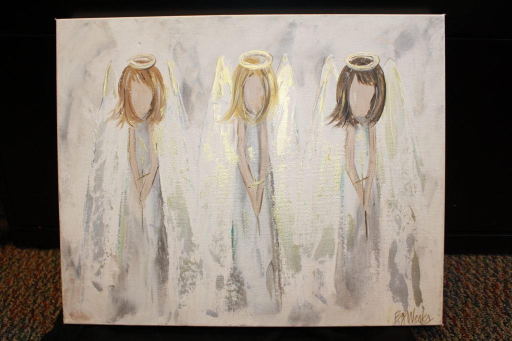 """3 Angels"" by BJ Weeks Art"