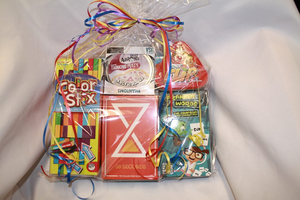 Toys and Games Family Fun Basket