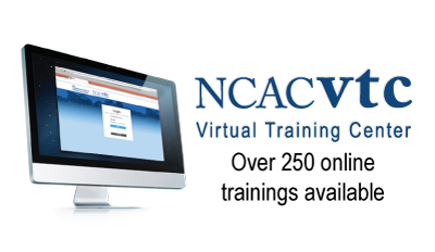 NCAC VTC OVer 250 online trainings available